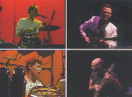 KING CRIMSON: On stage during the Three of a Perfect Pair tour